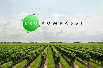 Winestate Oy:lle Ekokompassi-sertifikaatti