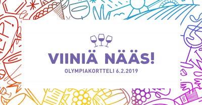 Viiniä NÄÄS villitsee Tampereella helmikuussa
