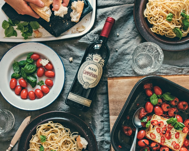 5 X ITALIAN WINE